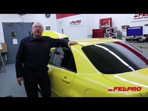 How to Install a Fel-Pro Intake Manifold Gasket on 2003 Mazda6