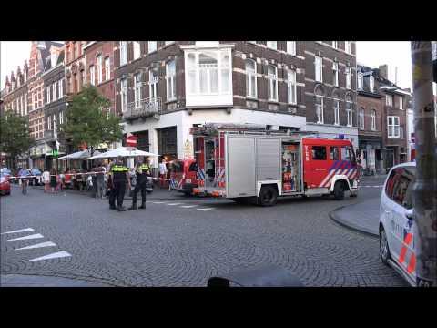 Zolderbrand/Attic Fire/Feu Grenier Wyckergrachtstraat Maastricht Netherlands 21 08 2015