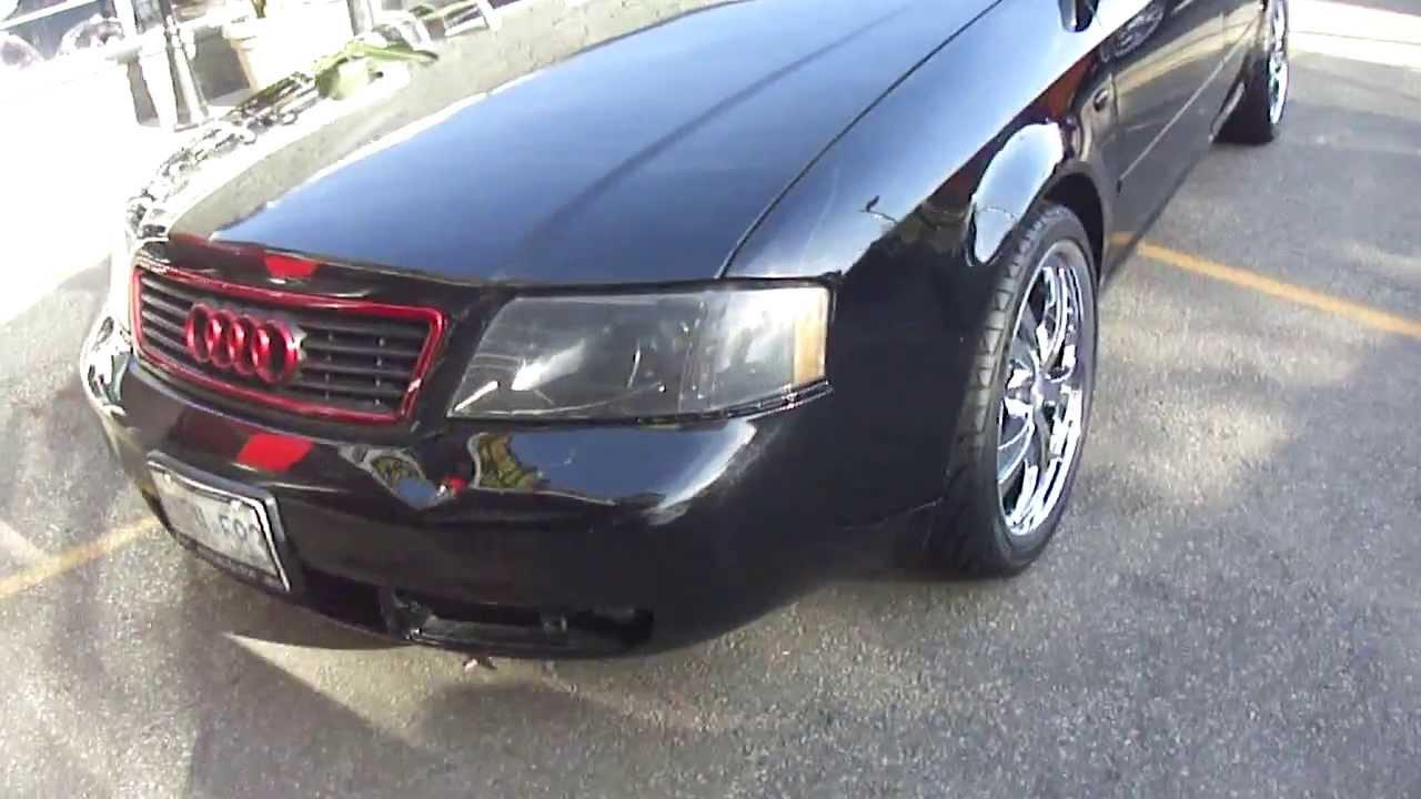 Hillyard Custom Rim Tire Audi A6 Rolling On 19 Full Chrome Rims