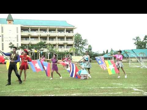 อบจ  ชุมพร19 09 55 กีฬาสีประจำปีโรงเรียนสหกรณ์ประชานุกุล