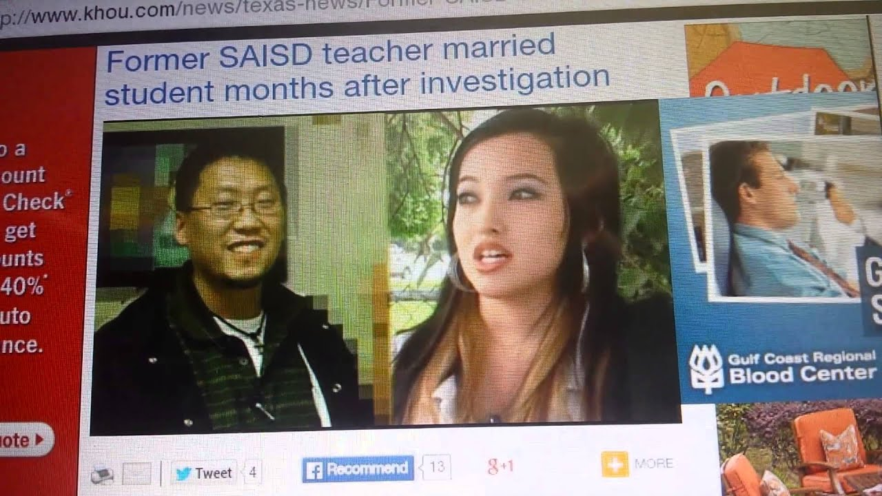 California teacher dating student