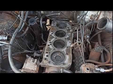 Умер двигатель д245 на газ 3309,разбираю и ищу причины.