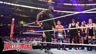 """Shaquille O'Neal läuft beim 3. """"Annual Andre the Giant Memorial Battle Royal"""" ein"""