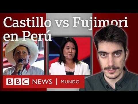 Quiénes son Pedro Castillo y Keiko Fujimori, candidatos para la segunda vuelta presidencial en Perú