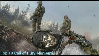 Top 10 Call of Duty Moments