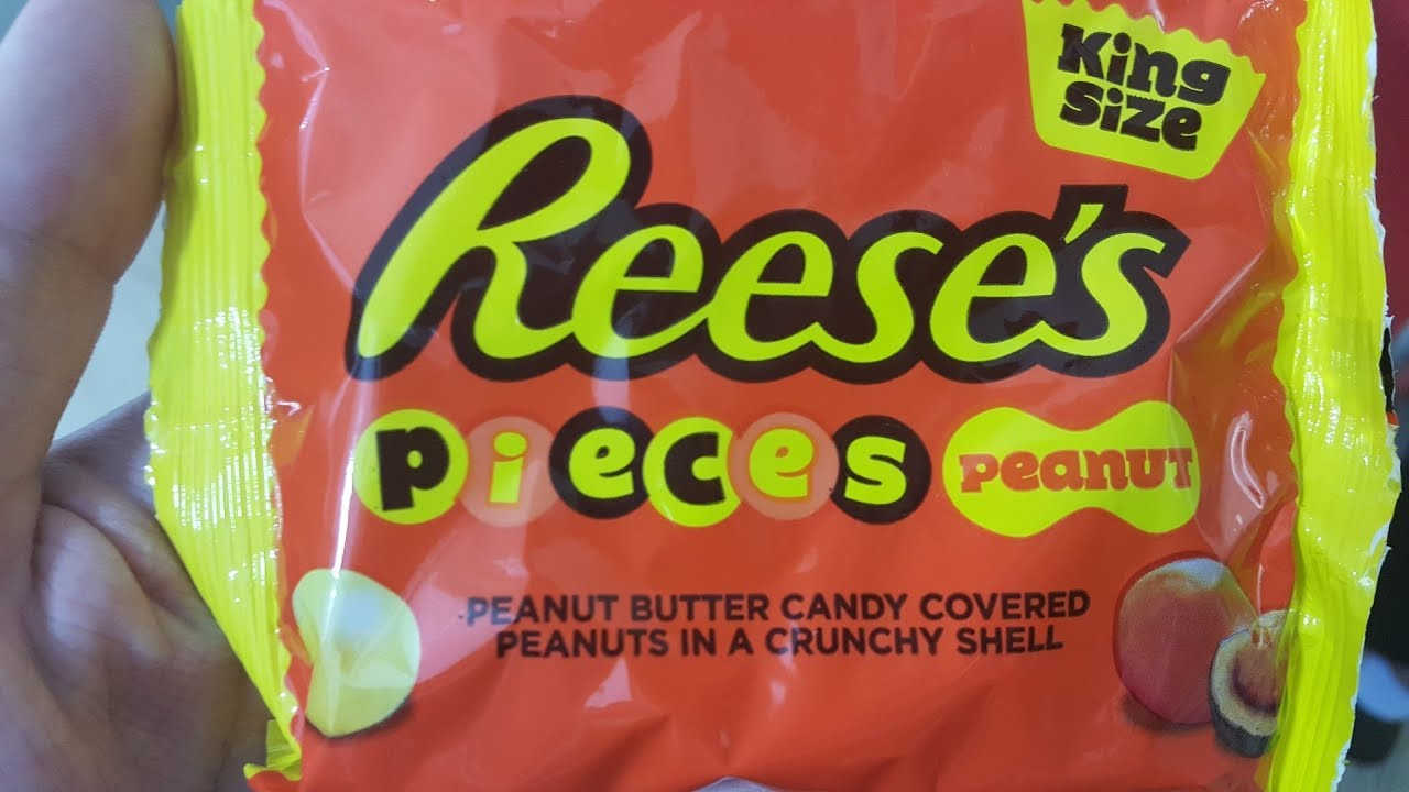 Reeses Pieces Peanut Review Youtube