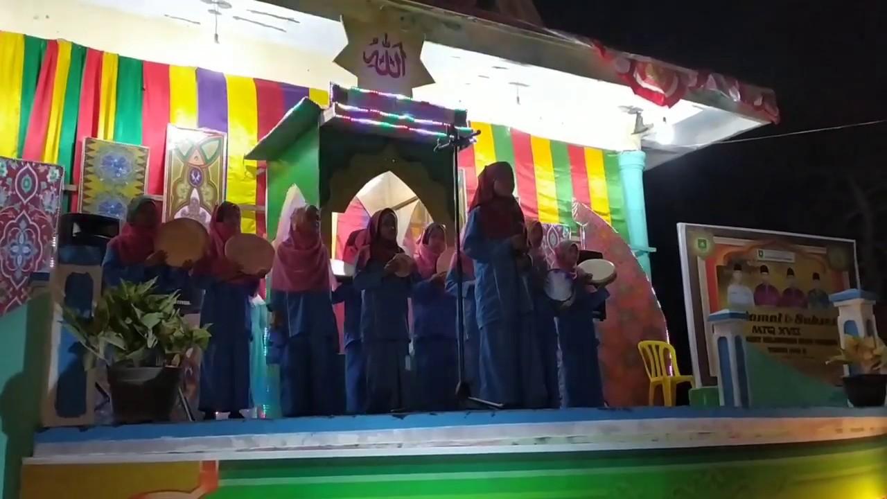 lagu qomarun oleh siswi mtsn bengkalis youtube
