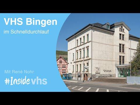 Die Volkshochschule Und Musikschule Bingen Am Schnelldurchlauf #insidevhs