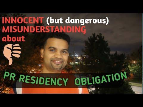 Canada PR Residency Obligation - 5 Year Period Clarity