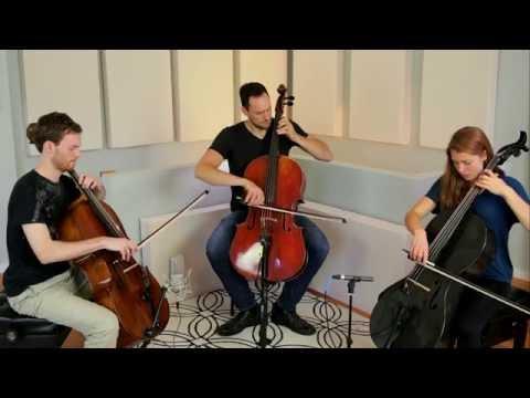 Bach Cello Suite 6: Sarabande - 3 Cellos (Break of Reality)