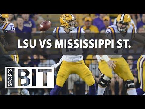 Sports BIT | College Football Betting Week 3 | LSU vs Mississippi State