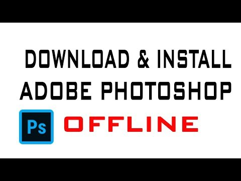 How To Download And Install Photoshop Offline In Urdu/Hindi
