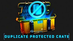 NEW 'Duplicate Protected' Crates!! (Trade System!)