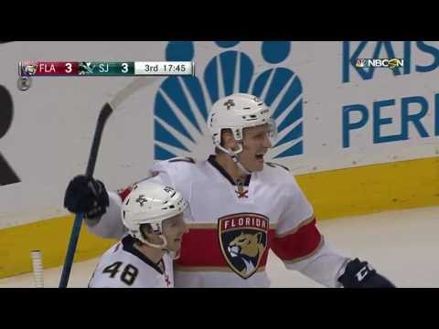 Florida Panthers vs San Jose Sharks - February 15, 2017  Game Highlights  NHL 201617