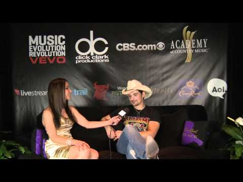 Brad Paisley Backstage Interview - ACM Awards 2011