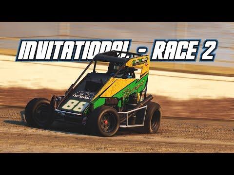 iRacing: AUS vs NZ Dirt Invitational - Race 2 (Midget @ Limaland)