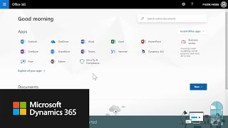 Get Started with Microsoft Dynamics 365 Business Central