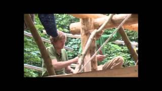 Строительство Круглый Лес Деревянным Каркасом 5(Бен Ло — обычный английский плотник — жил в вагончике на опушке леса и ничто не предвещало беды. Но задумал..., 2013-10-01T12:13:35.000Z)