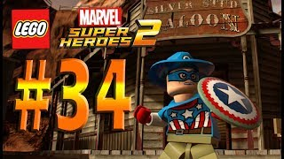 Lego Marvel Super Heroes 2 Chronopolis Part 34 Old West Puzzles