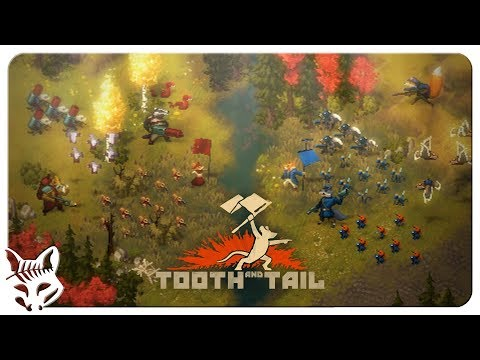Tooth And Tale - New RTS + RPG Pixel Art Game! | Animal Politics | Let's Play Tooth And Tale - Steam