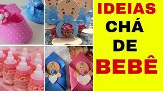 Ideias de lembrancinhas de chá de Bebê