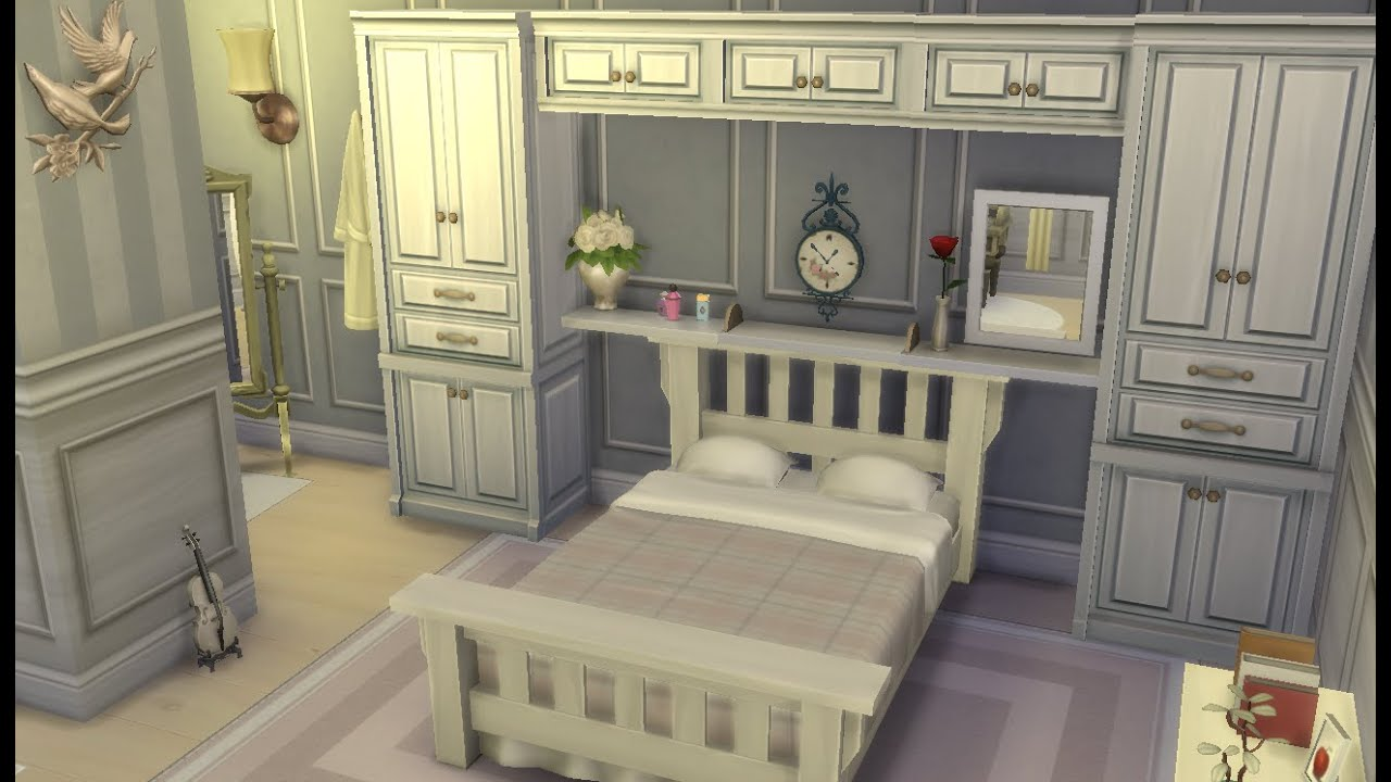 Sims 4 Room Design Pastel Dream Bedroom Youtube