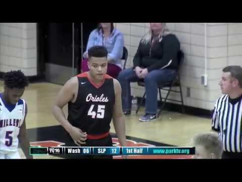 Mpls. Washburn vs St. Louis Park Boys Basketball 12/8/17