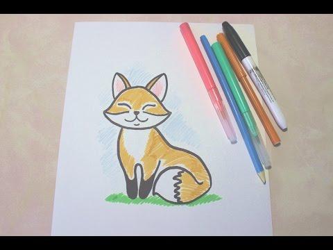 Как нарисовать лису алису
