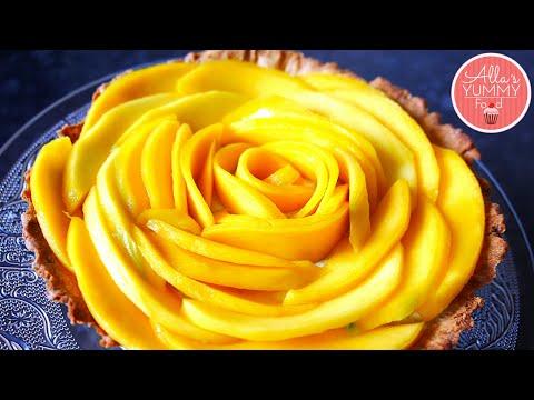 Mango Tart Recipe | Манговый Tарт