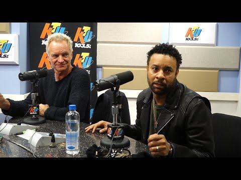 Shaggy And Sting On Close Friendship & Don't Make Me Wait