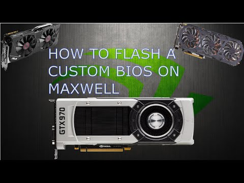 How to flash custom BIOS's to your GTX 970/980