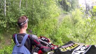 PRO ЭНДУРО  Плутания по Карельскому лесу часть 2