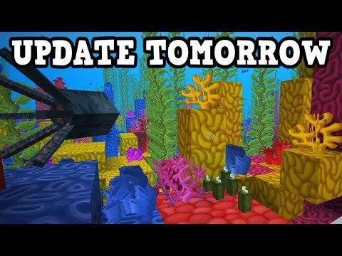Minecraft Update Aquatic Is Out TOMORROW? thumbnail