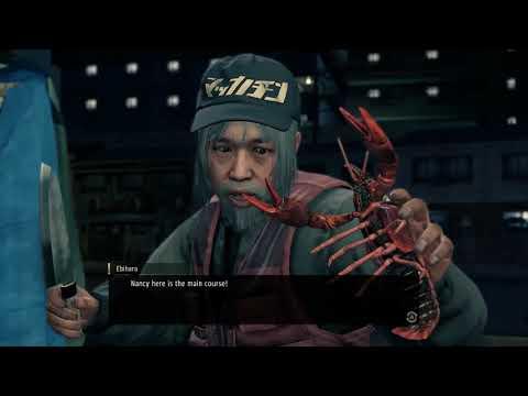 Yakuza : Like a Dragon - substory#16 The Crawfish Caper |