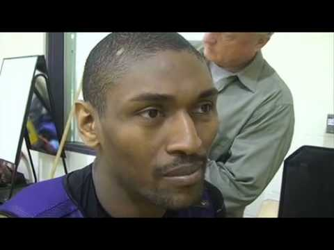 Lakers forward Ron Artest on not making the NBA