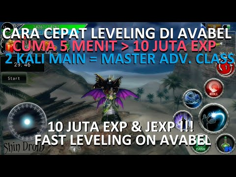 #FAST LEVELING | CARA CEPAT LEVELING & MASTERIN ADV. CLASS DI AVABEL ONLINE #1| ANDROID MMORPG GAMES