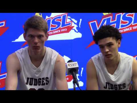 Handley Presser after 7266 State Championship loss to Lake Taylor in 2OT's