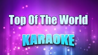 Carpenters - Top Of The World (Karaoke & Lyrics)