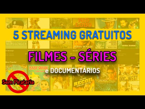 5 STREAMING GRATUITOS DE VÍDEOS