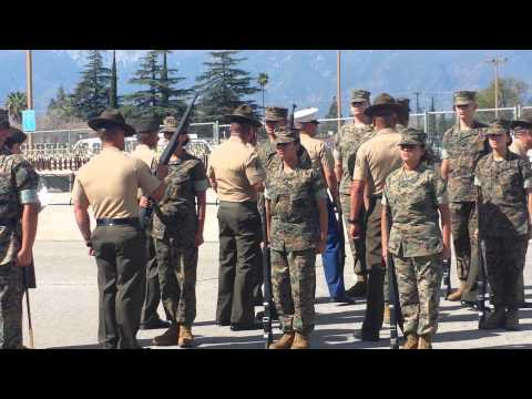 Fontana High School Marine Corps JROTC Drill Meet