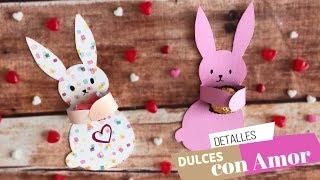 Regalo Tierno, fácil y rápido de Amor y Amistad San Valentin :: Dulceros