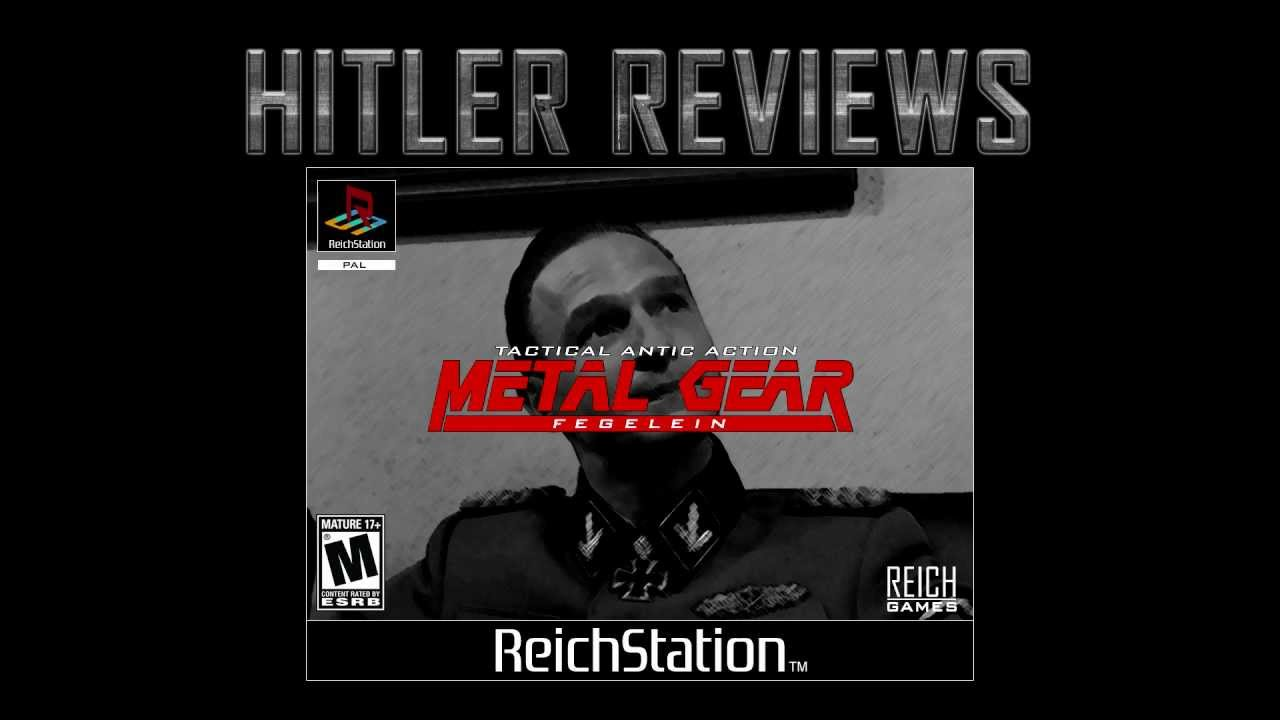 Hitler Reviews: Metal Gear Fegelein