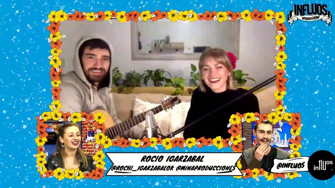 Rocio Igarzabal y Milton cantan para Influos (31/05/2020)