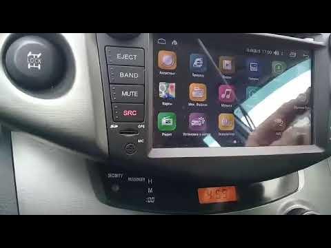 Штатная магнитола Farcar S170 L018 Toyota Rav 4 - отзыв клиента