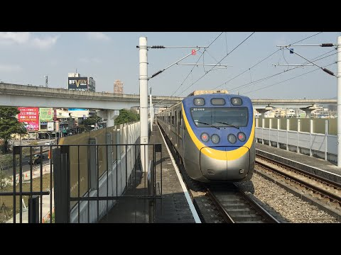 2615次區間車松竹站出站