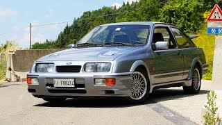 Ford Sierra RS Cosworth - Davide Cironi Drive Experience (ENG.SUBS)
