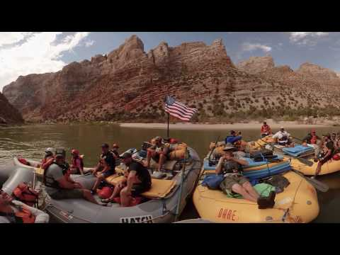 Rafting 360° With Veterans in Dinosaur National Monument