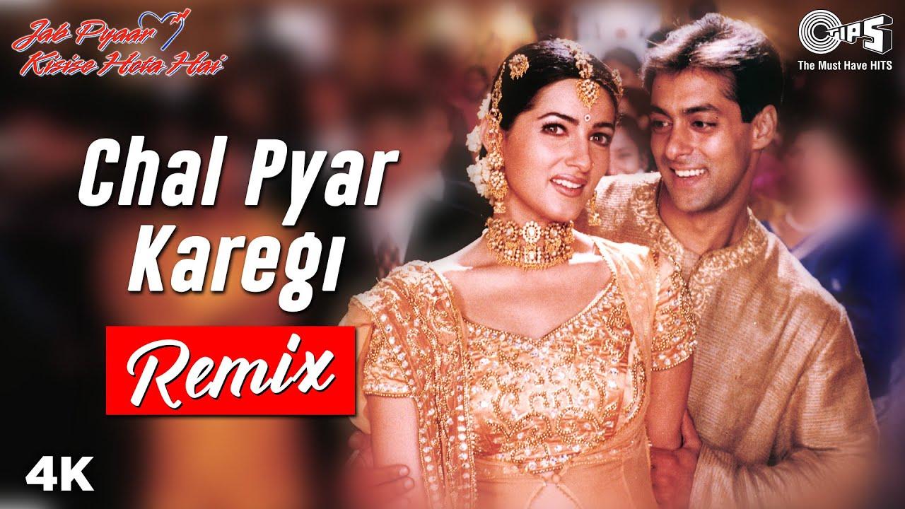 Remix: Chal Pyar Karegi | Jab Pyaar Kisise Hota Hai | Salman Khan, Twinkle K | Sonu Nigam, Alka Y