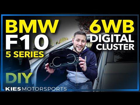 BMW F10 6WB Digitial Cluster Retrofit DIY