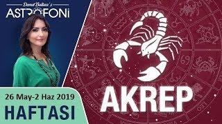 AKREP Burcu 27 Mayıs-2 Haziran 2019 HAFTALIK Burç Yorumları, Astrolog DEMET BALTACI